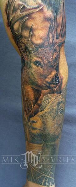 Mike DeVries - Deer Tattoo
